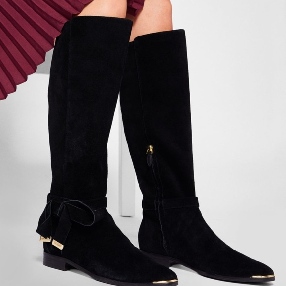 Ted Baker Shoes | Suede Alrami Knee